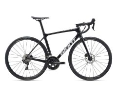 GIANT TCR ADVANCED 2 DISC Rennrad 2020 | Metallicblack /...