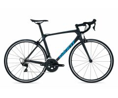 GIANT TCR ADVANCED 2 Rennrad 2020 | Coreblack / Metallicblue