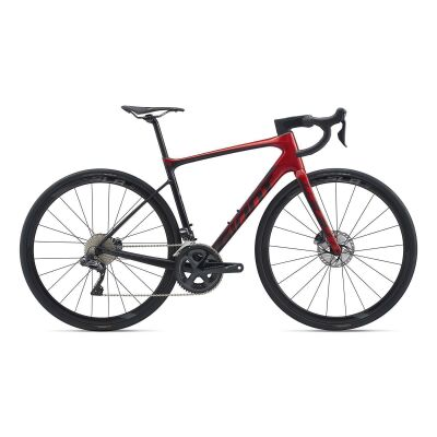 GIANT DEFY ADVANCED PRO 1 Endurance-Rennrad 2020 | Metallicblack / Metallicred