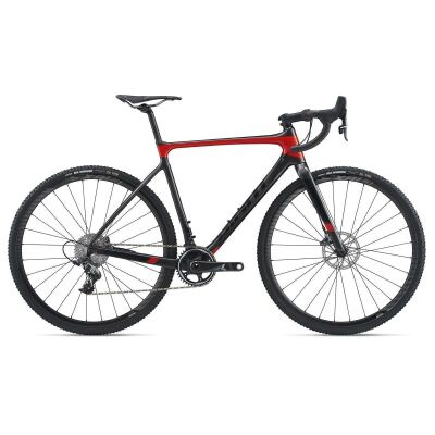 GIANT TCX ADVANCED PRO 1 Cyclocrosser 2020 | Metallicblack / Purered