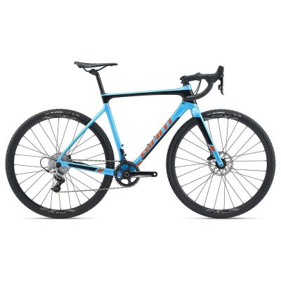 GIANT TCX ADVANCED PRO 2 Cyclocrosser 2020 | Olympicblue / Solidblack / Orange
