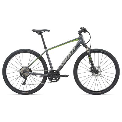 GIANT ROAM 1 Crossrad 2020   Charcoalgrey / Green Matt
