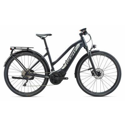 GIANT EXPLORE E+ 1 PRO STA PWR6 E-Bike Trekking 2020   Coreblack / Silver Satin   S