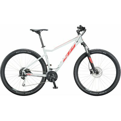 KTM ULTRA FUN 29 MTB Hardtail 2020 | lightgrey matt (red+black)