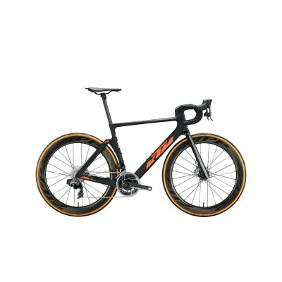 KTM REVELATOR LISSE SONIC Aero-Rennrad 2021 | carbon matt (space orange glossy)