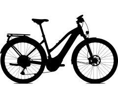 KTM LIFE 8 BELT Damen Trekkingrad 2020   black matt...