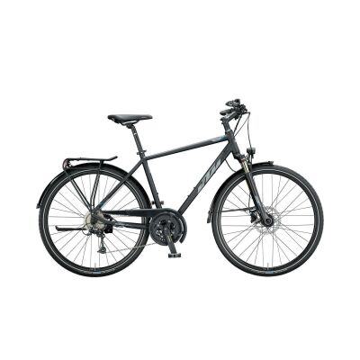 KTM LIFE FORCE H Trekkingrad 2020 | black matt (grey+blue)