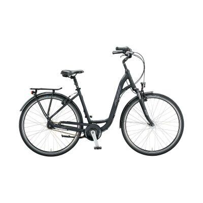KTM CITY LINE 28 D-W Urban/City Bike 2020 | black matt (grey+silver)
