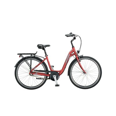 KTM CITY FUN 26 D-W Urban/City Bike 2020 | bordeaux matt (grey+black)