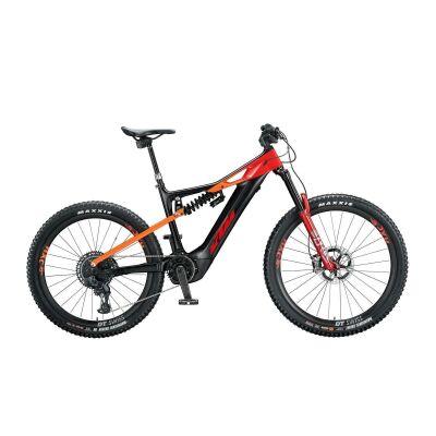 KTM MACINA PROWLER SONIC E-Bike Fully 2020 | black matt (space orange+red glossy)