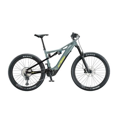 KTM MACINA KAPOHO 2972 E-Bike Fully 2020 | epicgrey matt (black+yellow)