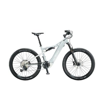 KTM MACINA LYCAN 271 GLORY E-Bike Damen-Fully 2020 | lightgrey matt (white+rose)