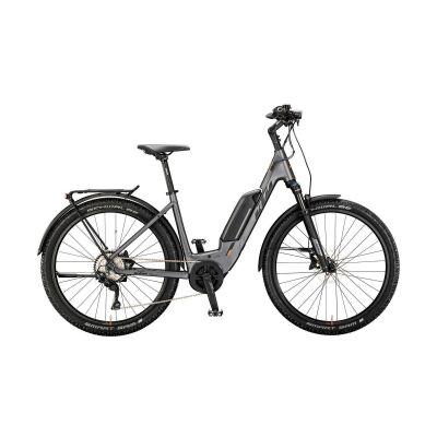 KTM MACINA SCOUT 272 LFC US E-Bike MTB-Tiefeinsteiger 2020 | steelgrey matt (black+orange)
