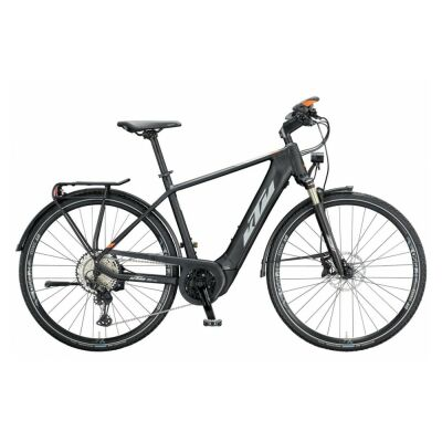 KTM MACINA SPORT ABS H E-Bike Trekkingrad 2021 | black matt (black+orange glossy)