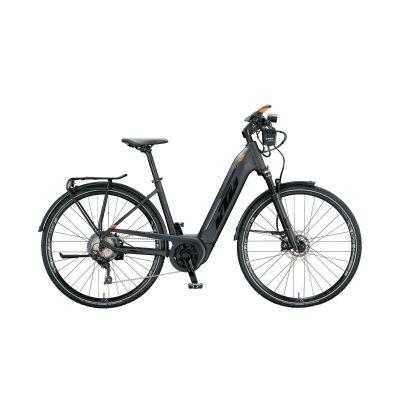 KTM MACINA SPORT ABS US E-Bike Trekkingrad 2020   black matt (black+orange glossy)