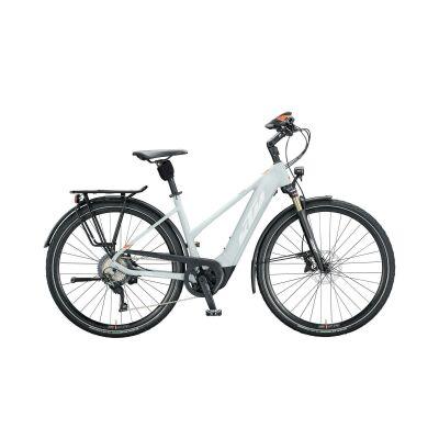KTM MACINA STYLE 620 D E-Bike Trekkingrad 2020 | lightgrey matt (white+orange)
