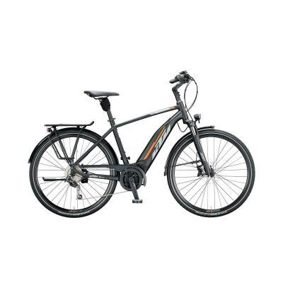 KTM MACINA FUN 510 H E-Bike Trekkingrad 2020 | black matt (grey+orange)