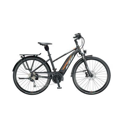 KTM MACINA FUN 510 D E-Bike Trekkingrad 2020 | black matt (grey+orange)