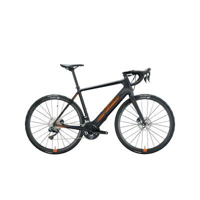 KTM MACINA MEZZO E-Bike Rennrad 2021 | black matt (space orange glossy)