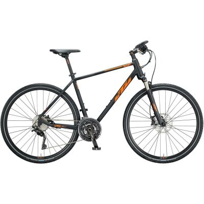 KTM LORETO CROSS H Crossrad 2020 | black matt (orange+red glossy)