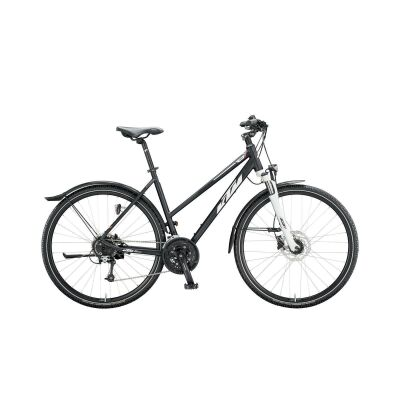KTM AVENZA CROSS ST D Crossrad 2020 | black matt (white+green)
