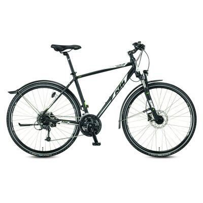 KTM AVENZA CROSS ST D Crossrad 2020 | black matt (white+berry)