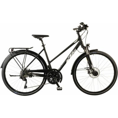 KTM VENETO LIGHT DISC D Trekkingrad 2020 | black matt (white+green)