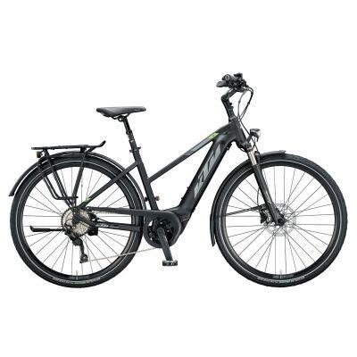 KTM CENTO 10 PLUS D E-Bike Trekkingrad 2020 | black matt (grey+green)