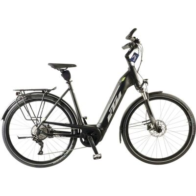 KTM CENTO 10 PLUS US E-Bike Trekkingrad 2020 | black matt (grey+green)