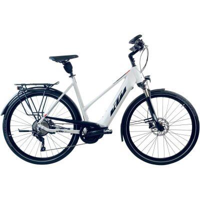KTM CENTO 10 PLUS US E-Bike Trekkingrad 2020   white matt (black+red)