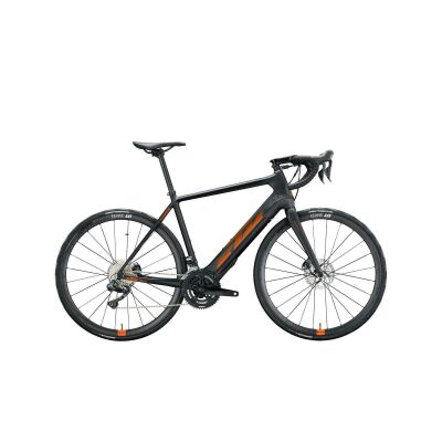 KTM MACINA MEZZO E-Bike Rennrad 2021 | black matt (space orange glossy) | XL