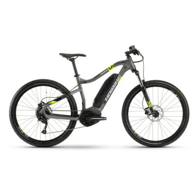 Haibike SDURO HardSeven 1.0 400Wh E-Bike 9-G Altus 2020 | titan/lime/schwarz