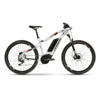 Haibike SDURO HardSeven 2.0 500Wh E-Bike 10-G Deore 2020 | silber/rot/schwarz