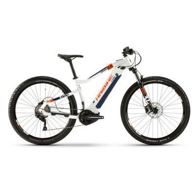Haibike SDURO HardNine 5.0 i500Wh E-Bike 10-G Deore 2020 | weiß/orange/blau