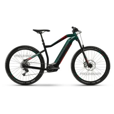 Haibike SDURO HardNine 8.0 i500Wh E-Bike 12-G SX Eagle 2020 | schwarz/kingston/rot