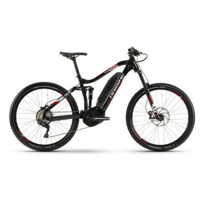 Haibike SDURO FullSeven LT 2.0 500Wh E-Bike 10-G Deore 2020 | schwarz/weiß/rot