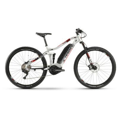 Haibike SDURO FullNine 2.0 500Wh E-Bike 10-G Deore 2020 | silber/rot/schwarz