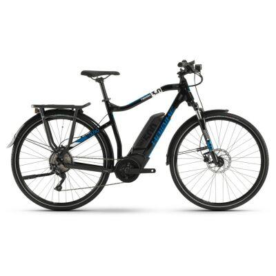 Haibike SDURO Trekking 3.0 Herren 500Wh E-Bike 10G Deo. 2020   schwarz/weiß/blau