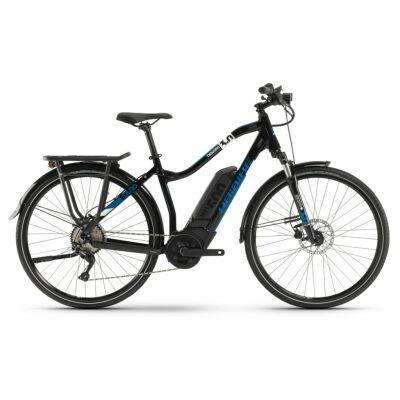 Haibike SDURO Trekking 3.0 Damen 500Wh E-Bike 10G Deore 2020 | schwarz/weiß/blau