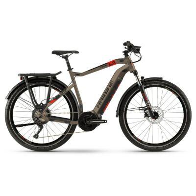 Haibike SDURO Trekking 4.0 Herren i500Wh E-Bike 10G Deo 2020 | sand/schwarz/rot
