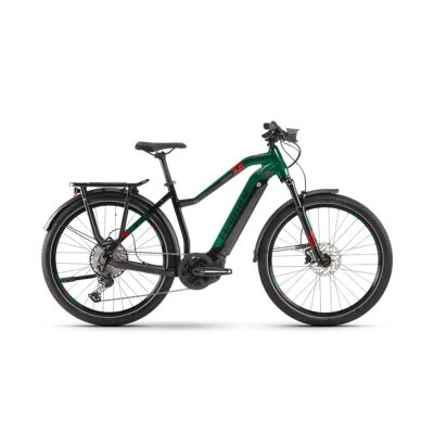 Haibike SDURO Trekking 8.0 Damen i500Wh E-Bike 12G XT 2020 | schwarz/rot/kingston