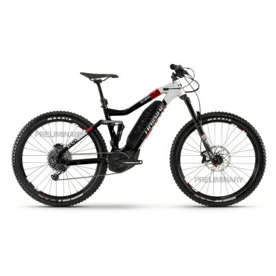 Haibike XDURO AllMtn 2.0 500Wh E-Bike 12-G NX Eagle 2020 | schwarz/silber/rot