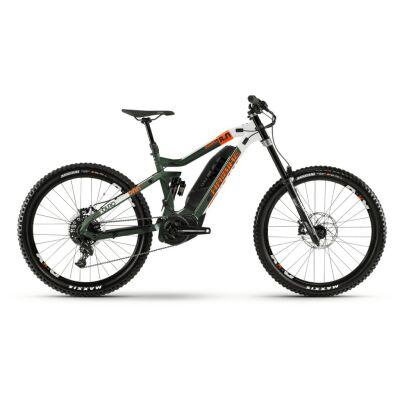 Haibike XDURO Dwnhll 8.0 500Wh E-Bike 11-G GX 2020 | grün/weiß/orange