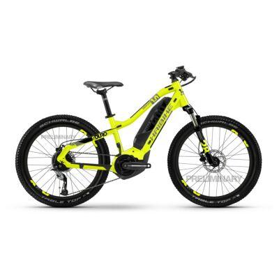 Haibike SDURO HardFour 1.0 400Wh E-Bike 9-G Altus 2020 | lime/titan/schwarz | XS
