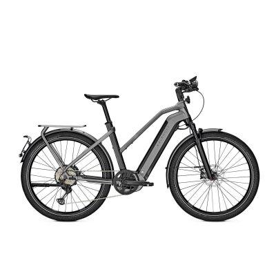 KALKHOFF ENDEAVOUR 7.B EXCITE 45 Trapez E-Trekking Bike 2021 | magicblack/jetgrey matt