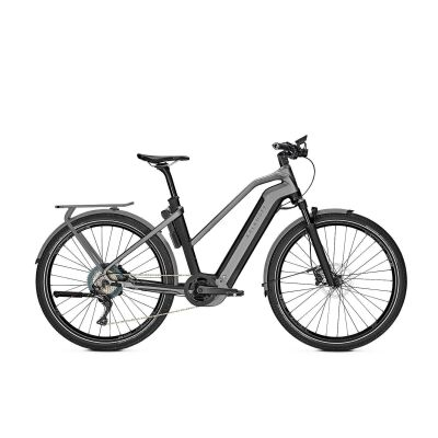 KALKHOFF ENDEAVOUR 7.B EXCITE Trapez E-Trekking Bike 2020 | magicblack/jetgrey matt