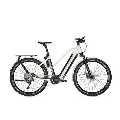 KALKHOFF ENDEAVOUR 7.B ADVANCE Trapez E-Trekking Bike 2021 | magicblack/starwhite glossy