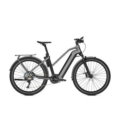KALKHOFF ENDEAVOUR 7.B ADVANCE Trapez E-Trekking Bike 2021 | magicblack/jetgrey matt