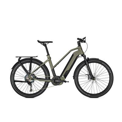 KALKHOFF ENTICE 7.B EXCITE Trapez E-Trekking Bike 2020 | urbangreen/magicblack matt