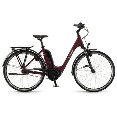 "Winora Tria N7f eco Einrohr400Wh E-Bike 28""7-G NexusFL 2020   burgundyred matt"
